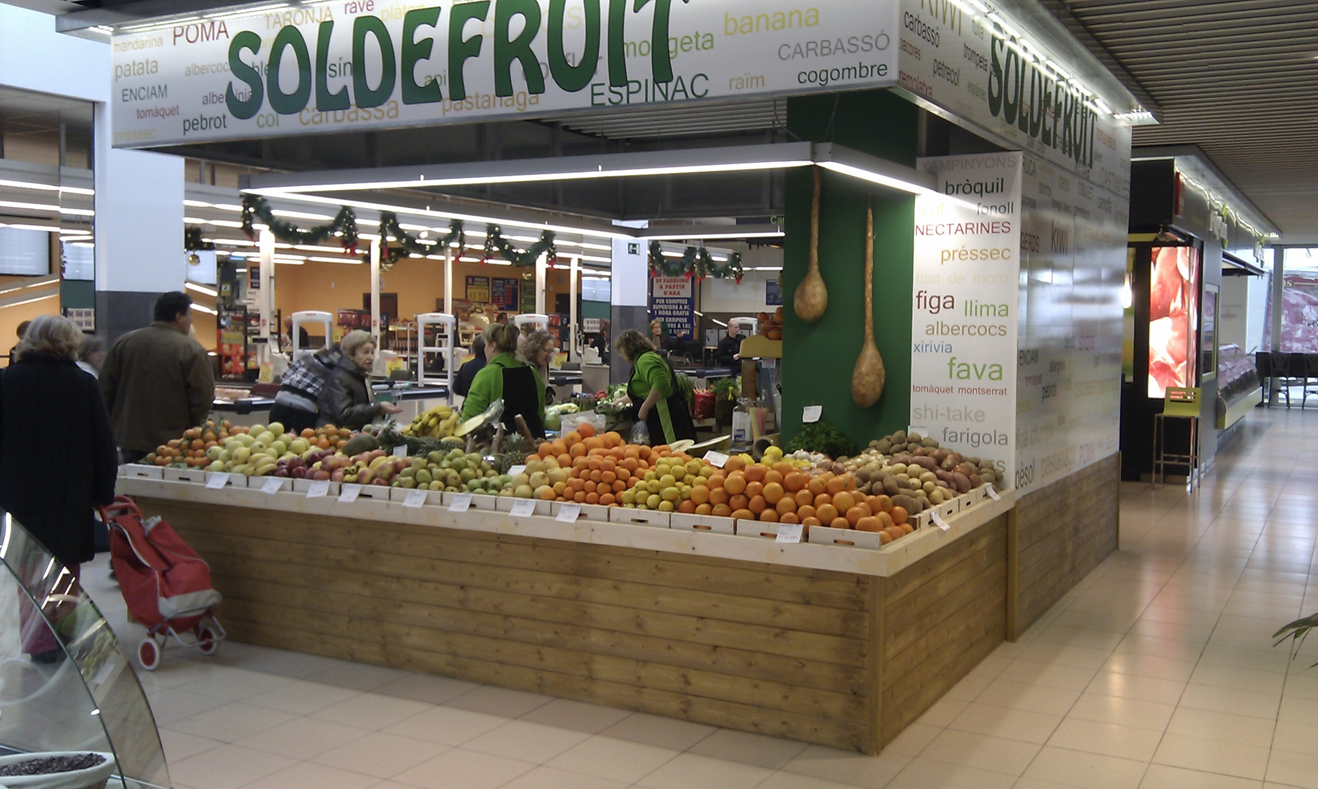 El Mercado Municipal de Cappont en Lleida, completa su oferta comercial.