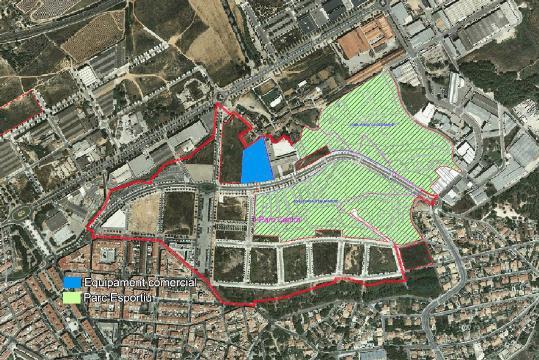 El macroproyecto de Decathlon en Sant Pere De Ribes se hará en el Parque Central.